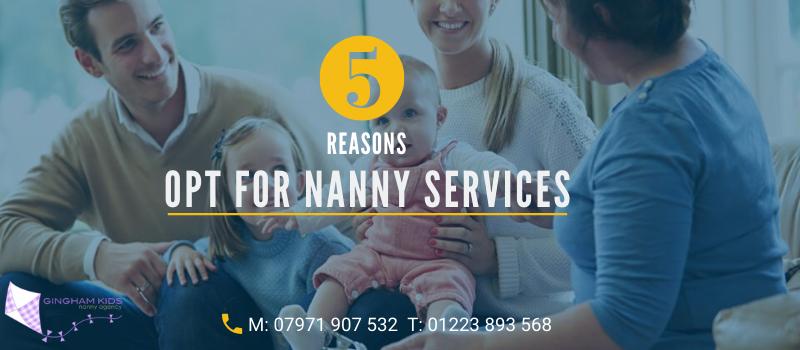 nanny services london